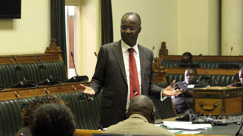 Jonathan Moyo In Parliament