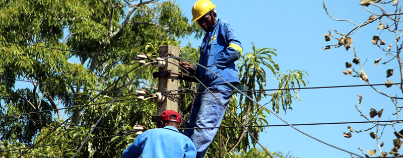 Zesa Electricians At Work