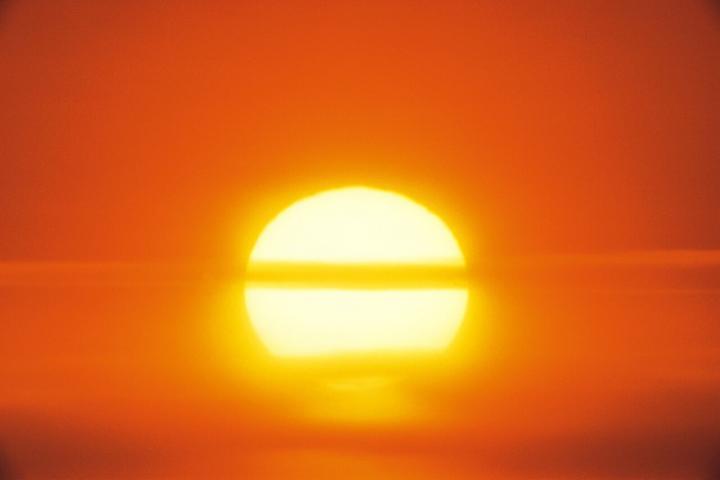 The sun, heatwave