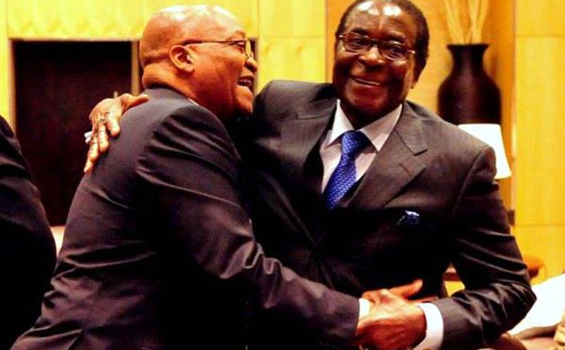 Jacob Zuma Robert Mugabe appeal 15-month imprisonment
