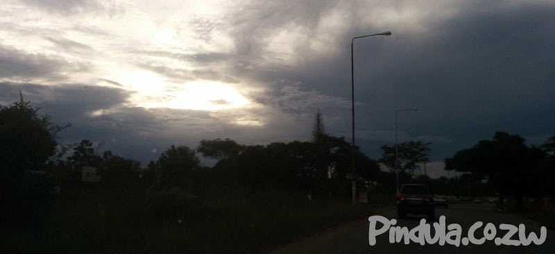 Storm Clouds Weather Sunny Zimbabwe report forecast