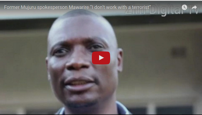 """Mawarire Reacts Angrily To Theft Accusations By Jonathan Moyo. Calls Him """"bloody liar and petty thief."""""""
