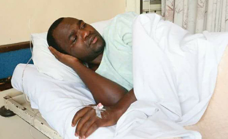 Patson Dzamara accused of misleading people about ICU to elicit public sympathy