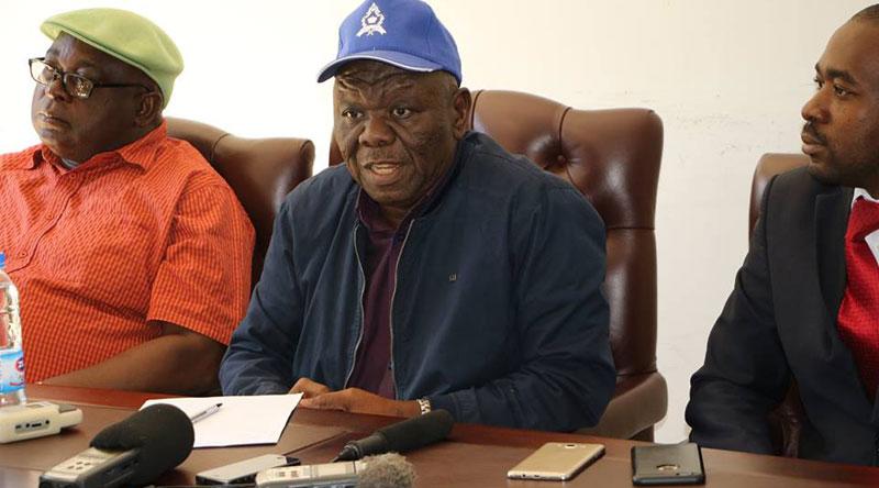 Mudzuri, Chamisa and Tsvangirai