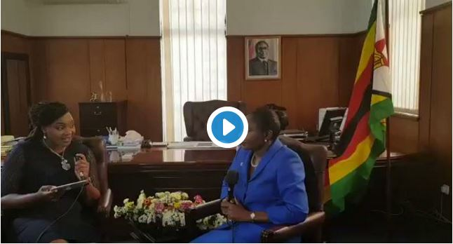 Video: ZEC Chairperson Justice Rita Makarau explains why she kneeled before Mugabe, accused of lying