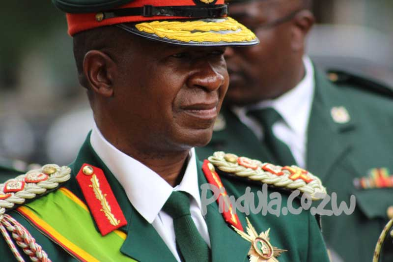 General Philip Valerio Sibanda, Commander ZDF