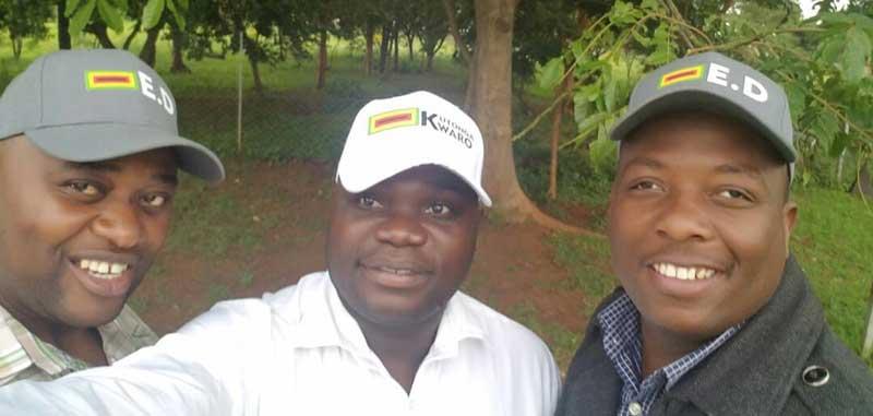 Kudzai Chipanga, Ignatius Chombo, Innocent Hamandishe