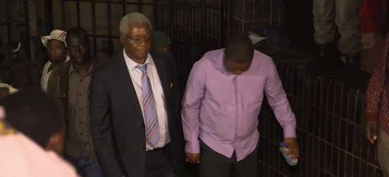 Ignatius Chombo and Kudzanai Chipanga