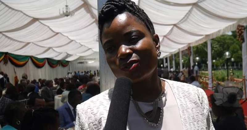 Former Minister Petronella Kagonye