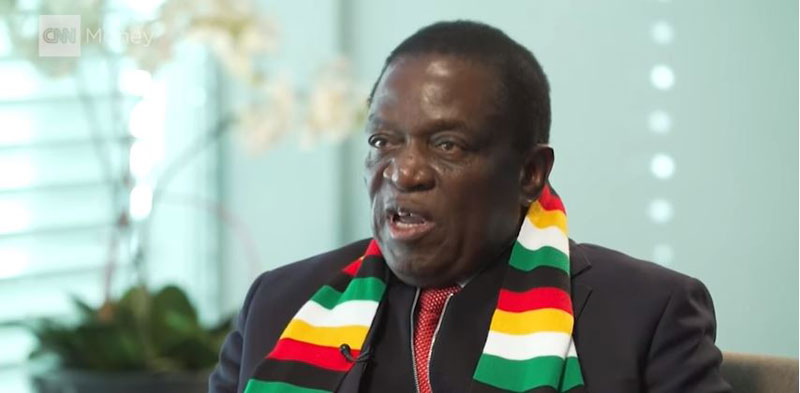 Emmerson Mnangagwa CNN Interview