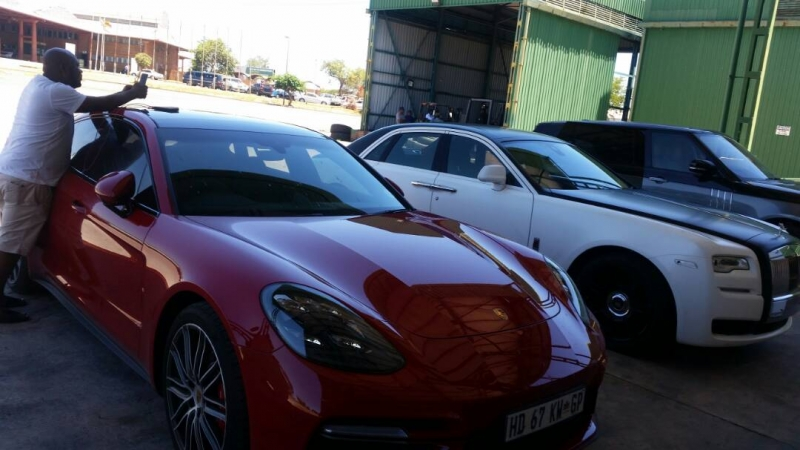 Grace Mugabe's Super Cars