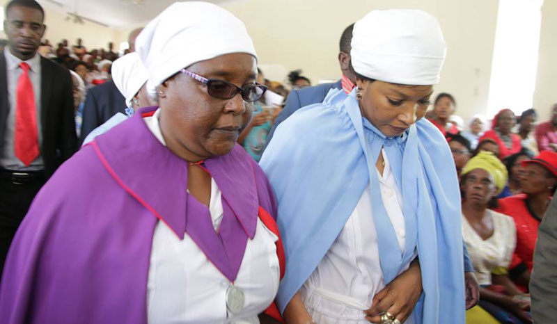 Elizabeth Macheka, Morgan Tsvangirai's Widow