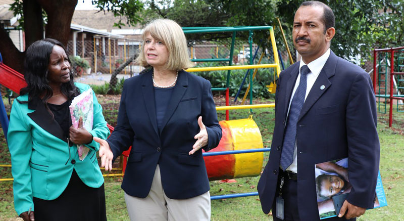 UK Minister For Africa Harriet Baldwin