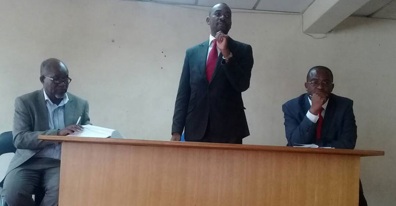 MDC-T leaders, Nelson Chamisa