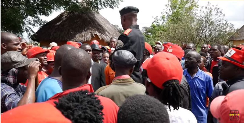 MDC-T Youths Harass Khupe