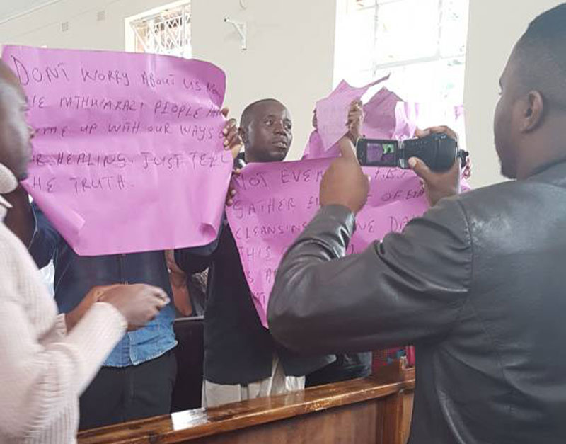 National Peace and Reconciliation Commission (NPRC) Demo