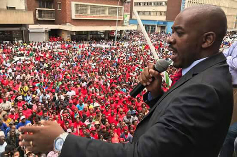 Nelson Chamisa, MDC-T Acting President