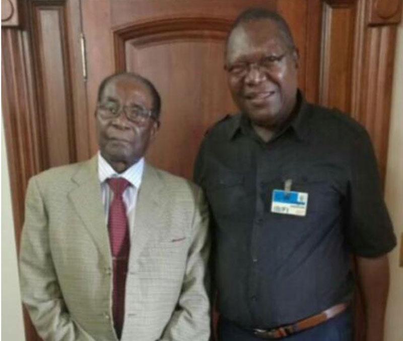Robert Mugabe, Ambrose Mutinhiri