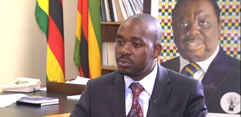 Nelson Chamisa Interview SABC