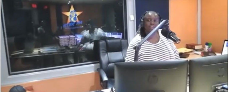 Tilda Moyo In Studio