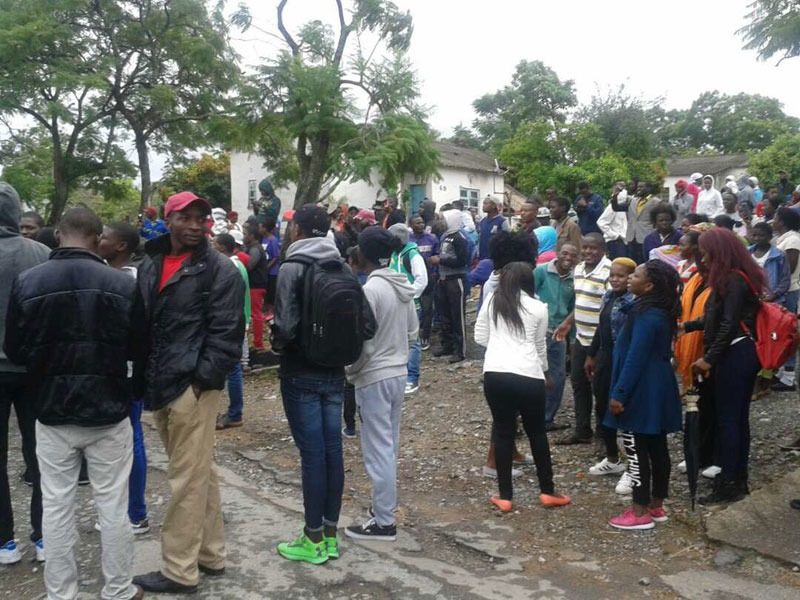 UPDATED: Police Fire Shots, Teargas At Protesting GZU