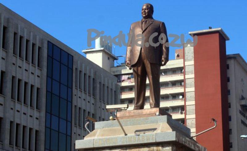 Joshua Nkomo Statue