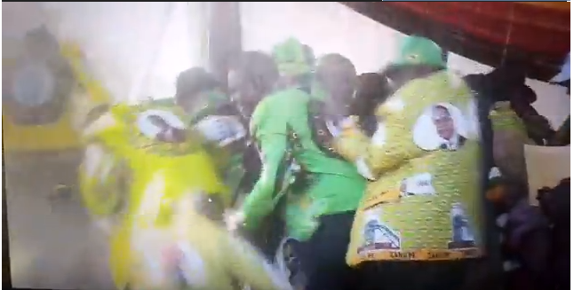 Explosion at Emmerson Mnangagwa election rally