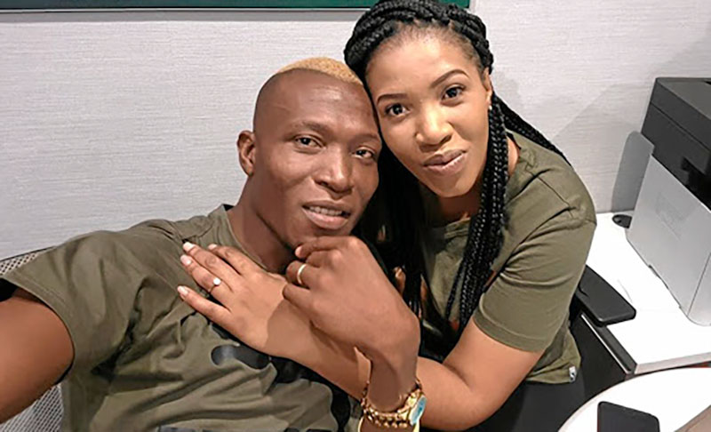 Tendai Ndoro, Wife Thando
