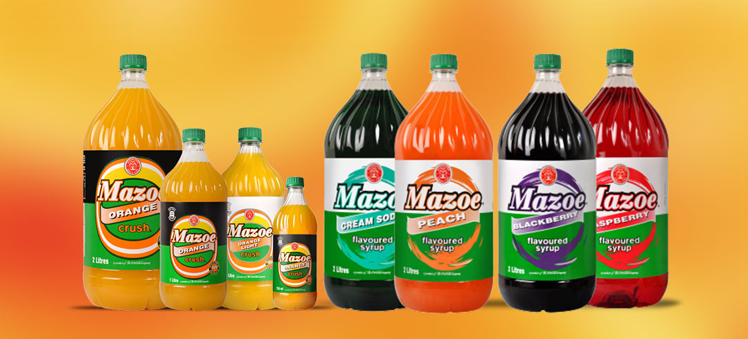 Schweppes Mazoe Products