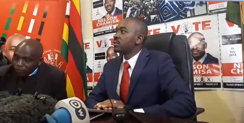 Nelson Chamisa Press Conference
