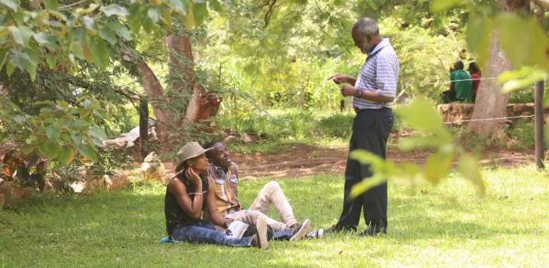 Nkosana Moyo Campaigning