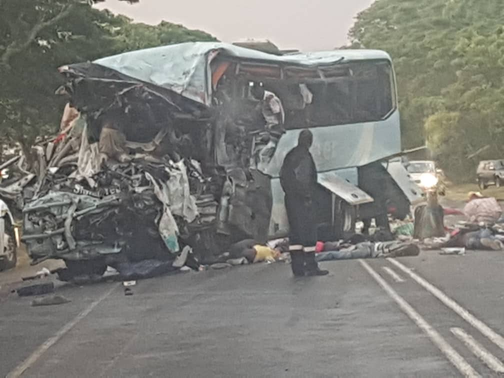 Image result for 47 dead as buses collide in Zimbabwe –Police