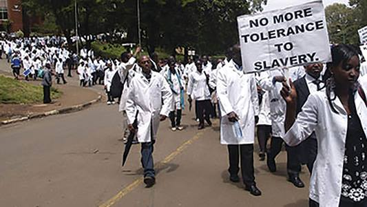 Health Workers Scoff At Government Offer Meant To Stop Mass Resignations