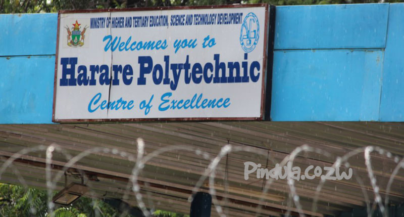 Harare Polytechnic Suspends students for hugging