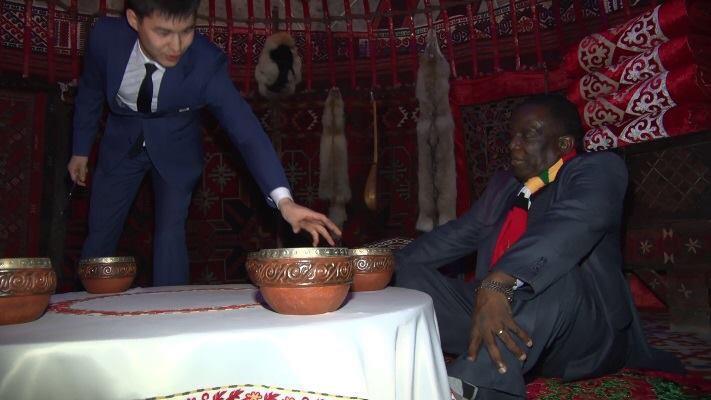 """Photo Of Mnangagwa """"Performing Rituals"""" Photoshopped By Jonathan Moyo- Claims Mutodi"""