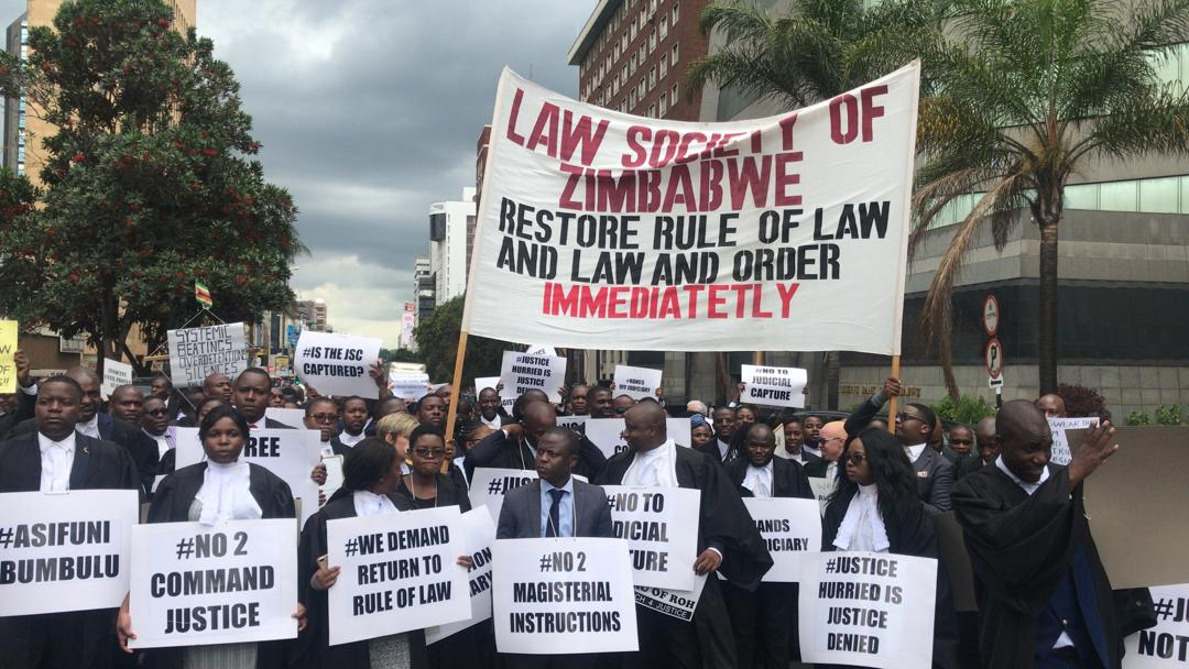 ZIMBABWE Lawyers for Human Rights (ZLHR) and the Young Lawyers Association of Zimbabwe (YLAZ) oppose appeal Luke Malaba ouster