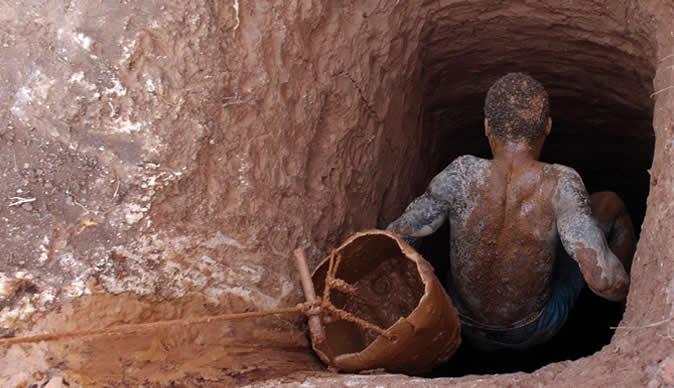 Artisanal Gold miner