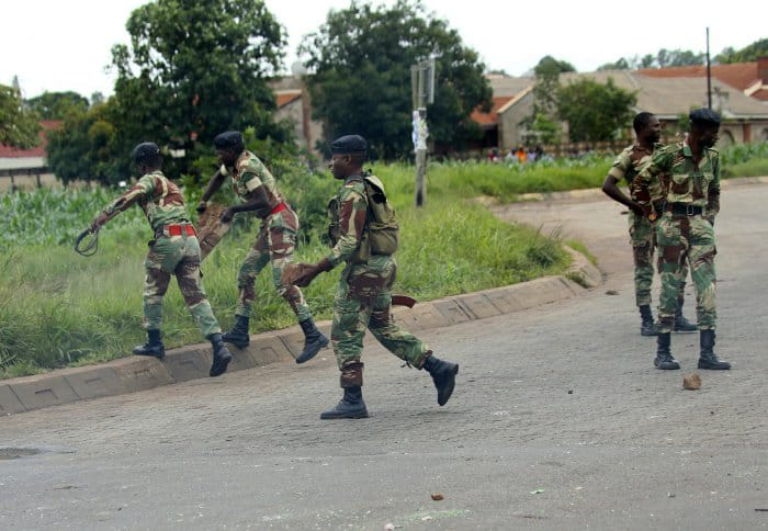 ZNA Soldiers