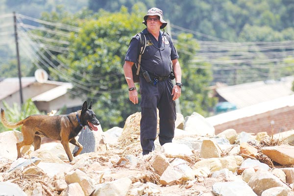 Cyclone Idai: Sniffer Dogs Identify 23 Points Of Interest In