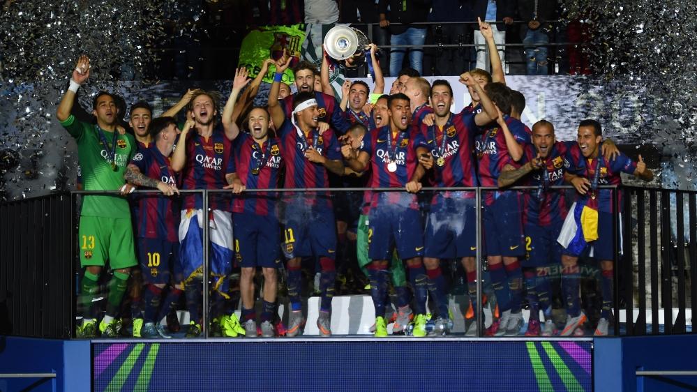 309bcfa6d Barcelona La Liga Champions - Querciacb