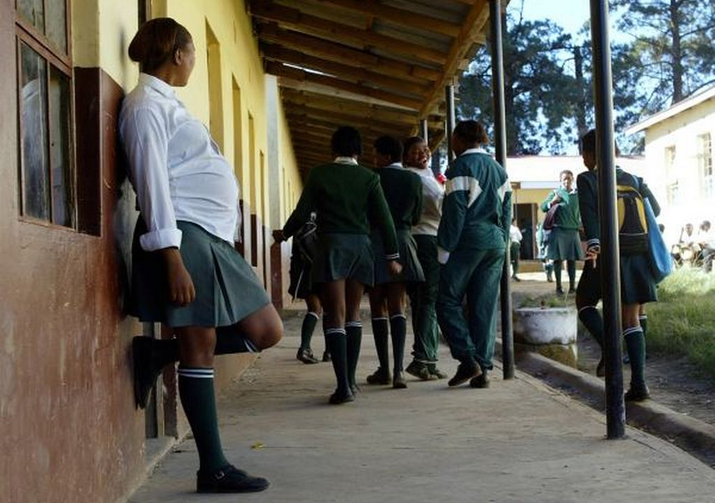 Pregnant School Pupil