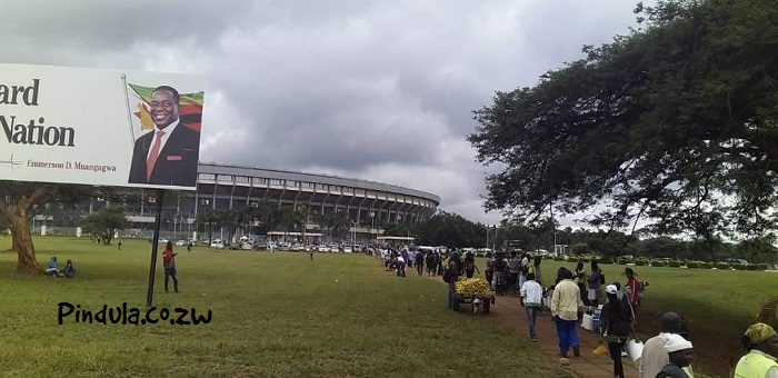 CAF Turns Down ZIFA Request To Allow Supporters Into NSS For Zim-Ghana Match