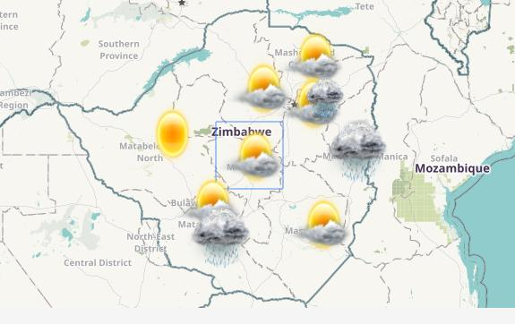 Weather Zimbabwe