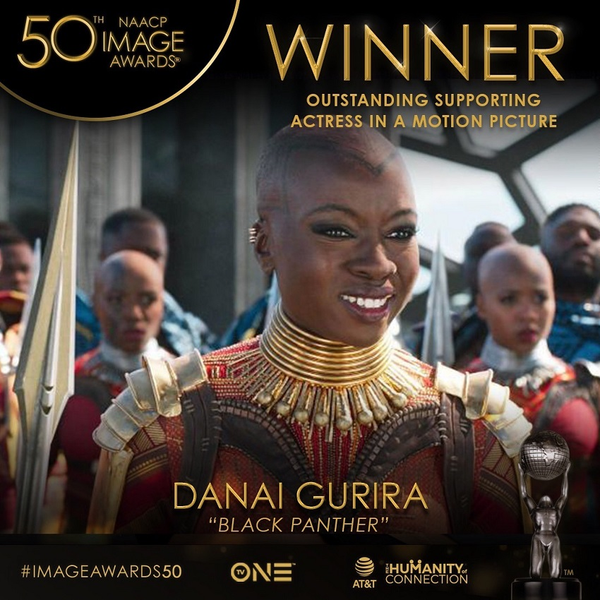 Gurira Wins Award For Black Panther Role