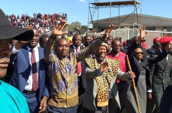 Chamisa, Bobi Wine, Chief Ndiweni MDC Gweru Congress