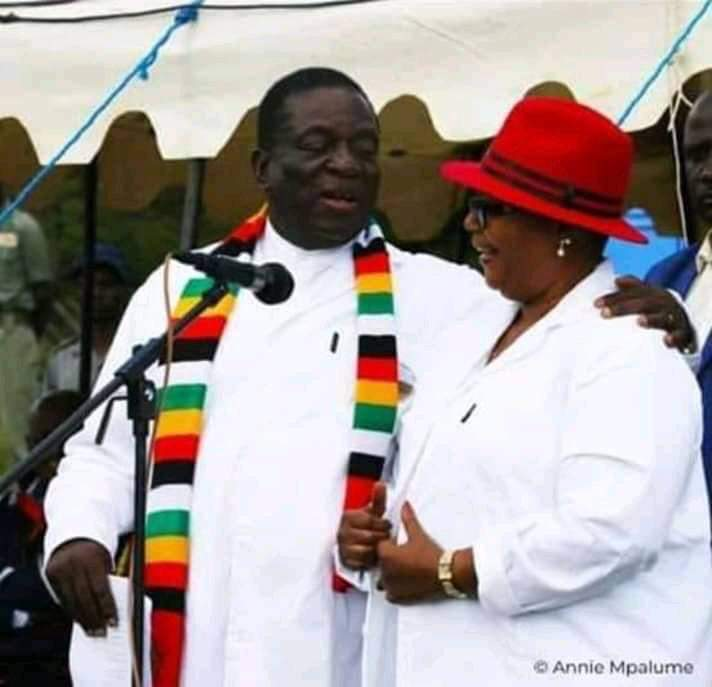Emmerson Mnangagwa and Thokozani Khupe