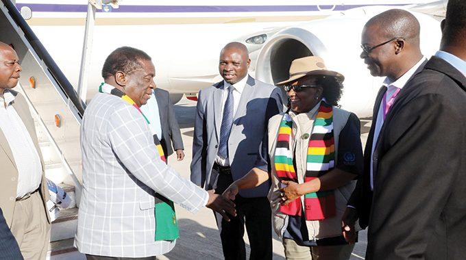 Emmerson Mnangagwa Priscah Mupfumira Warrant of arrest
