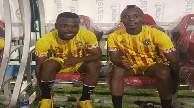Warriors Strikers Kuda Mahachi and Knox Mutizwa