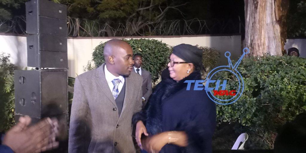 Nelson Chamisa and Thokozani Khupe