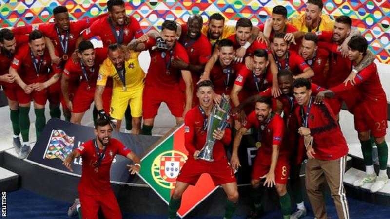 Portugal Beat Netherlands 1-0 To Lift The UEFA Nations ...